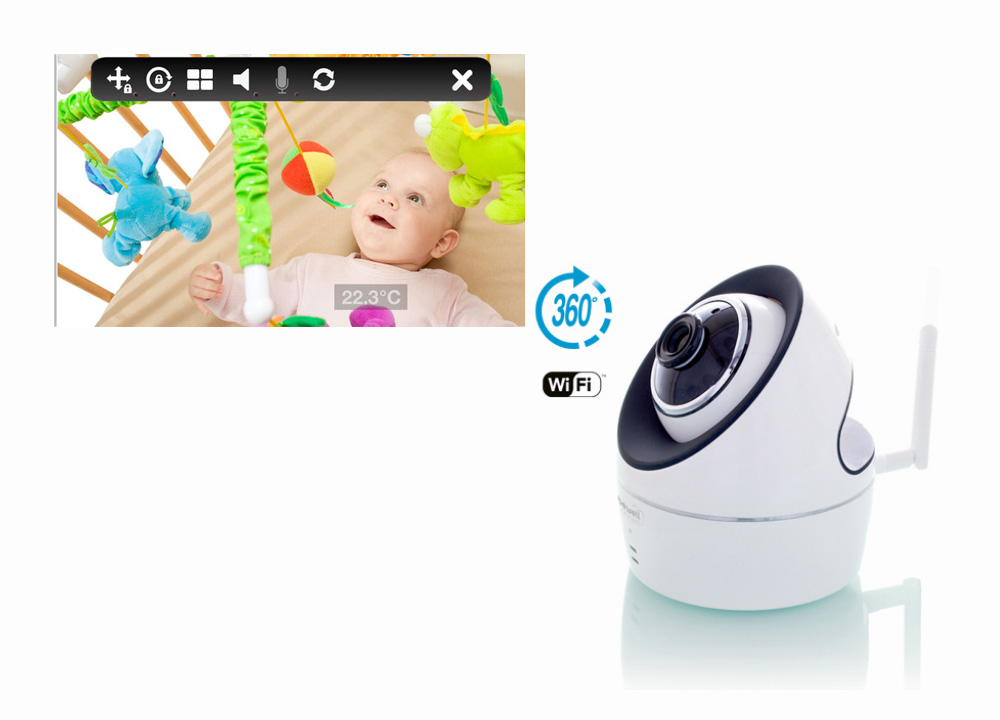 Bewell MY IVISION BABY MONITOR IP