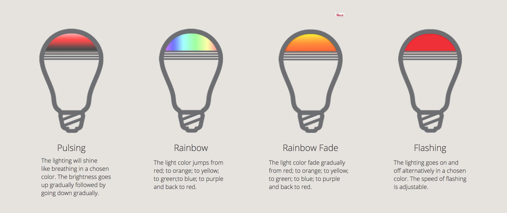 Mipow Playbulb color - Ampoule enceinte multicolore