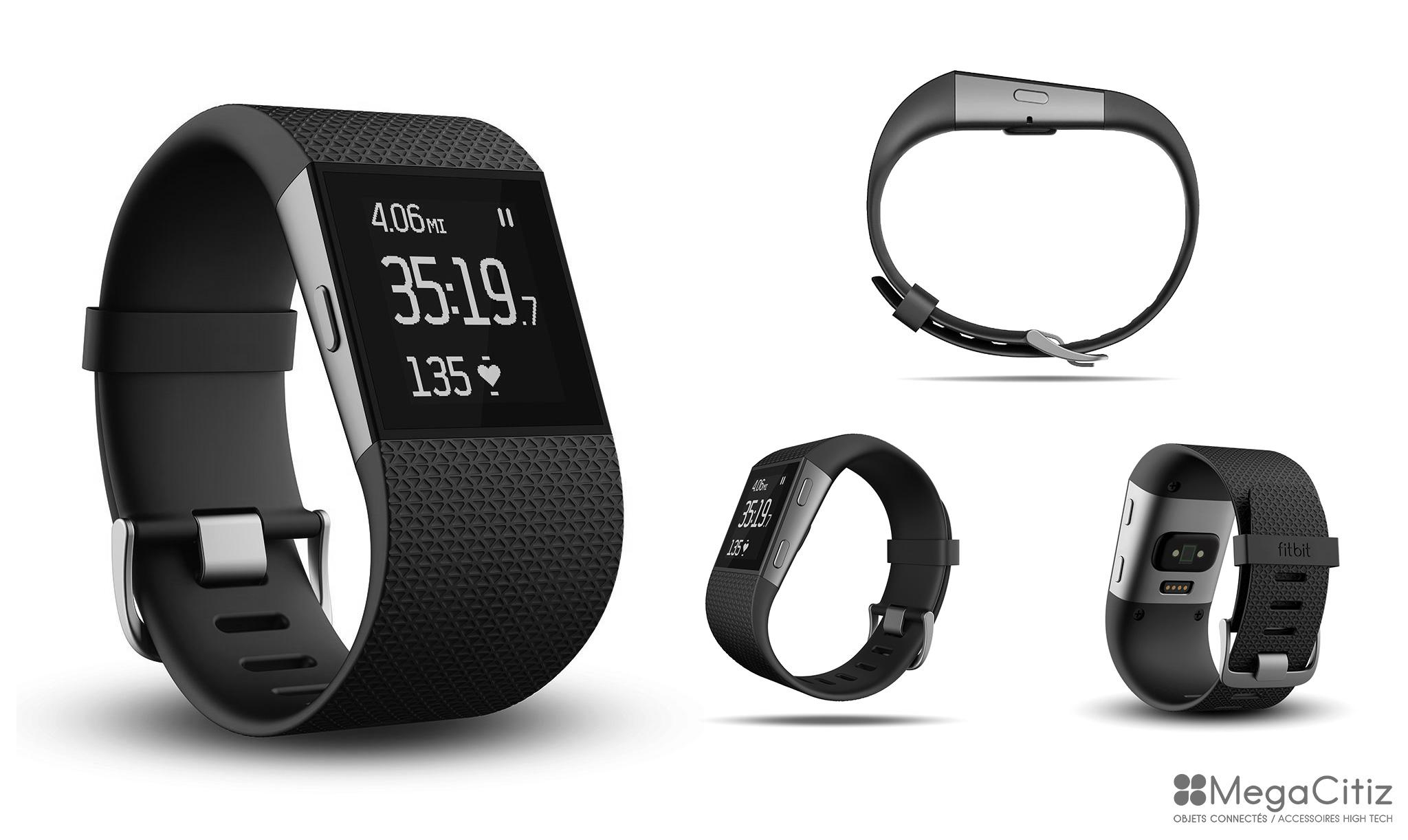 Montre connectée : Fitbit Surge