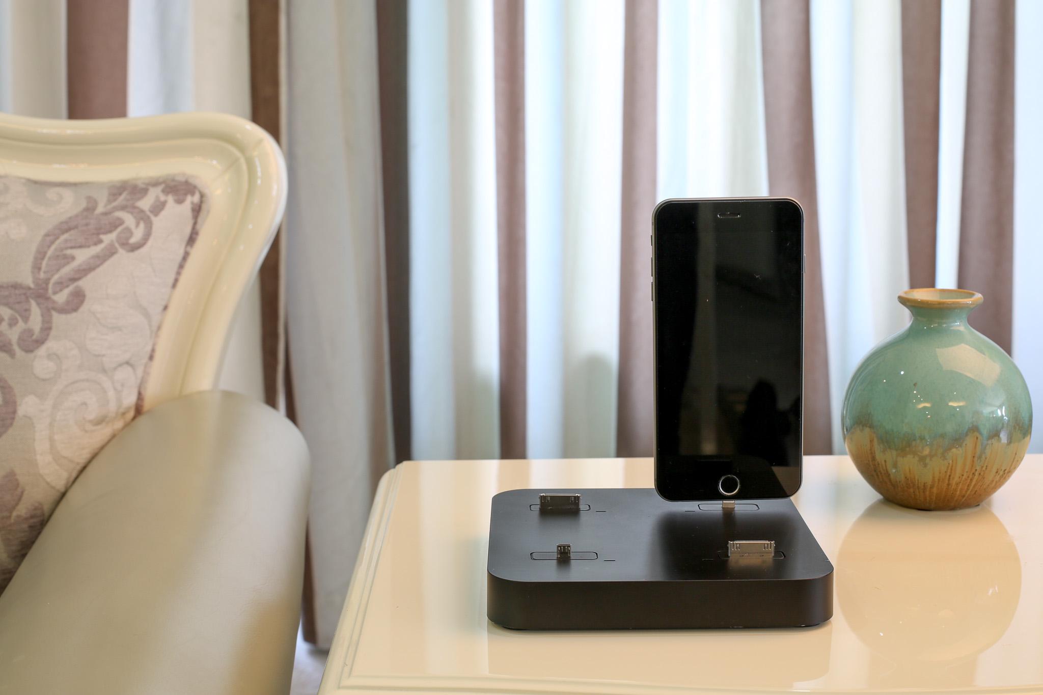 Kiwi box Dock chargeur smartphone