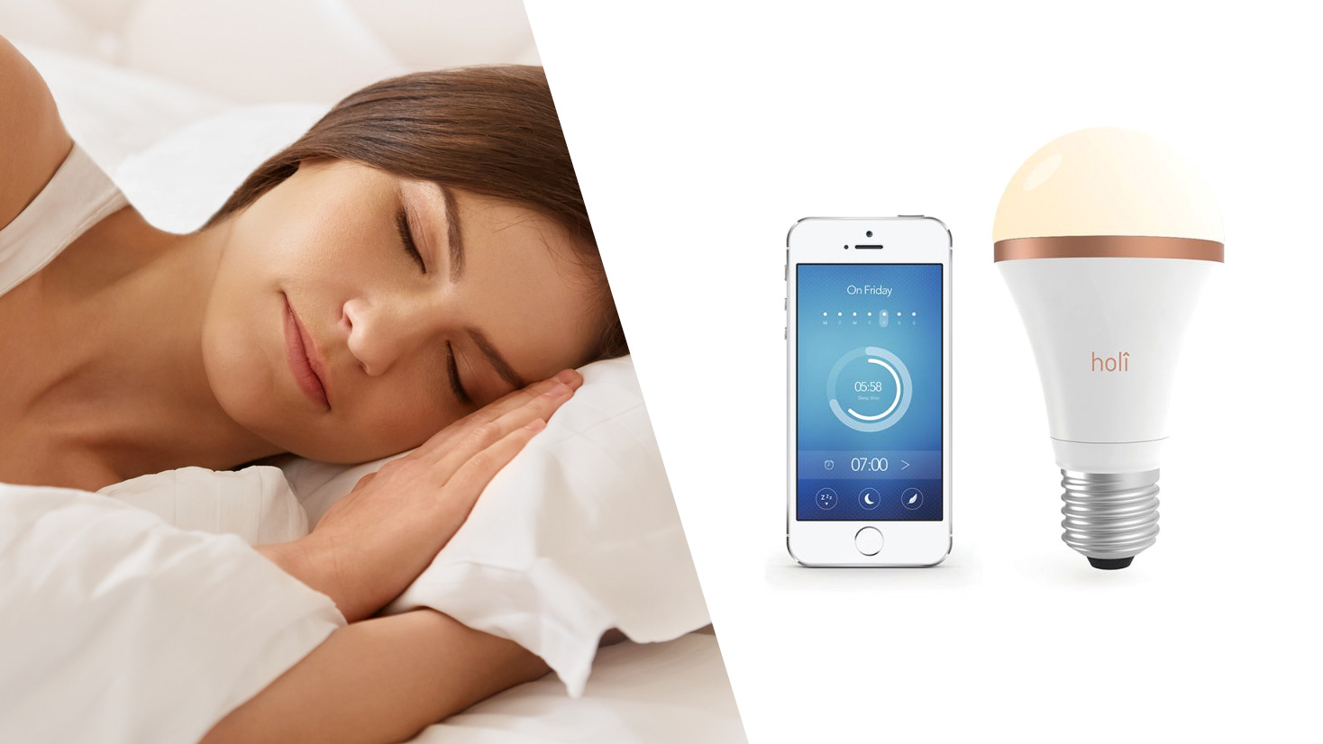 L'ampoule Sleep Companion de Holi