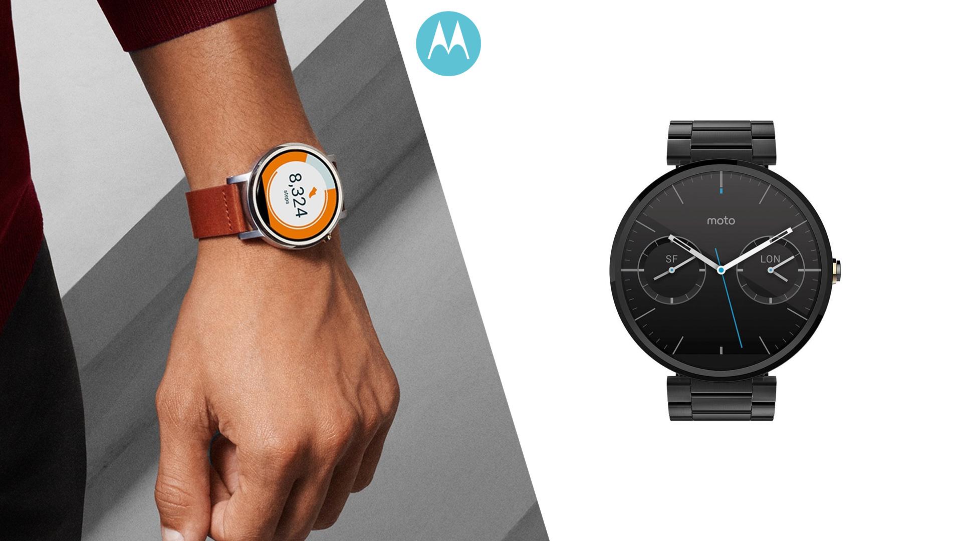 Motorola Moto Clock 360