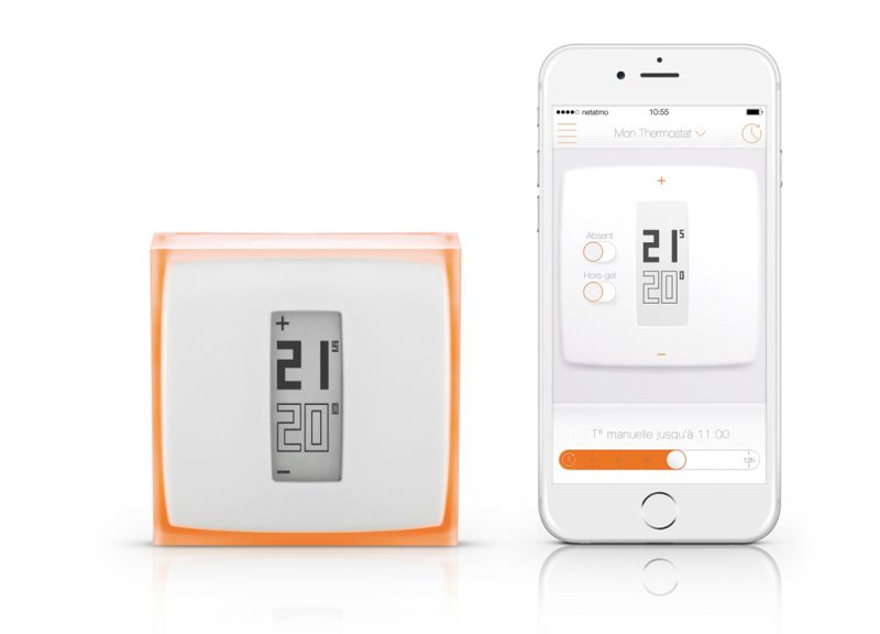 Thermostat Netatmo  Iphone smartphone app