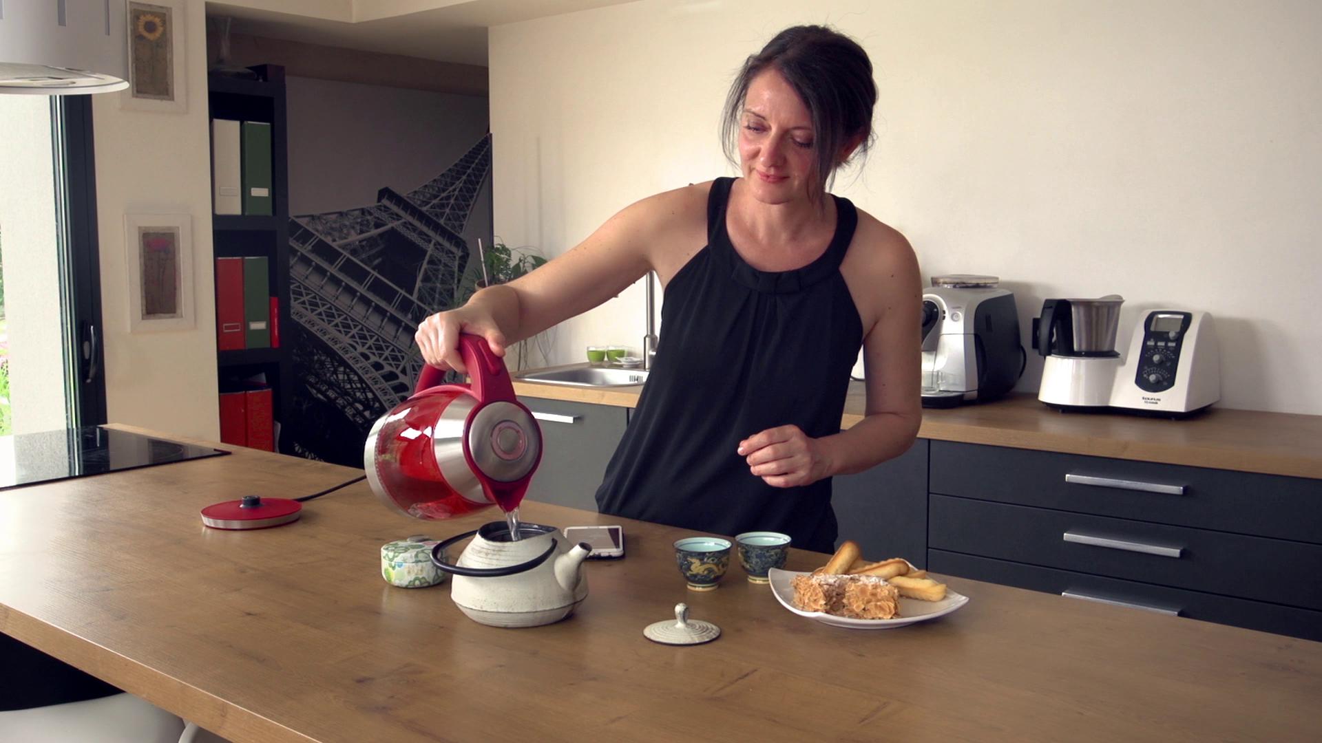 42 Tea : le cube à thé connecté intelligent