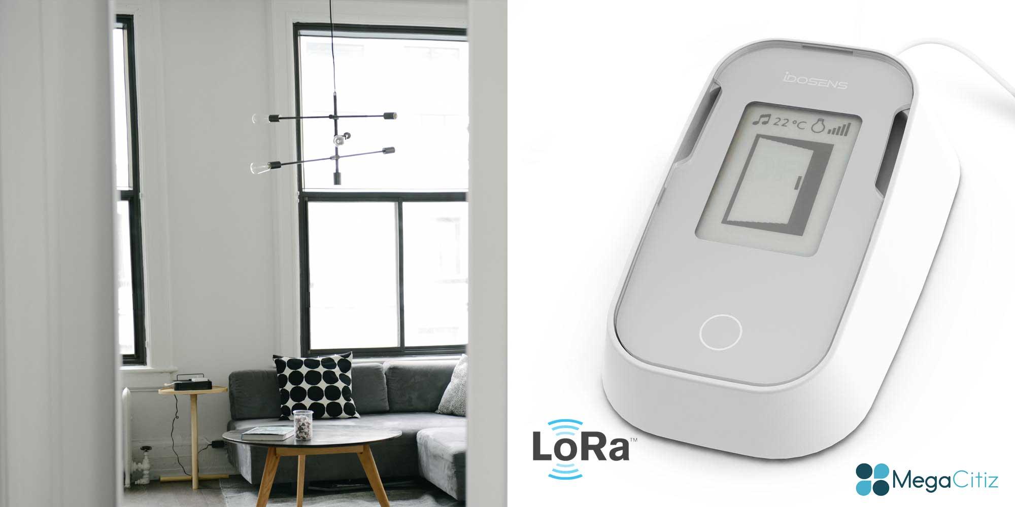 Idosens : le premier capteur d'intrusion et de température indépendant du bluetooth et d'internet