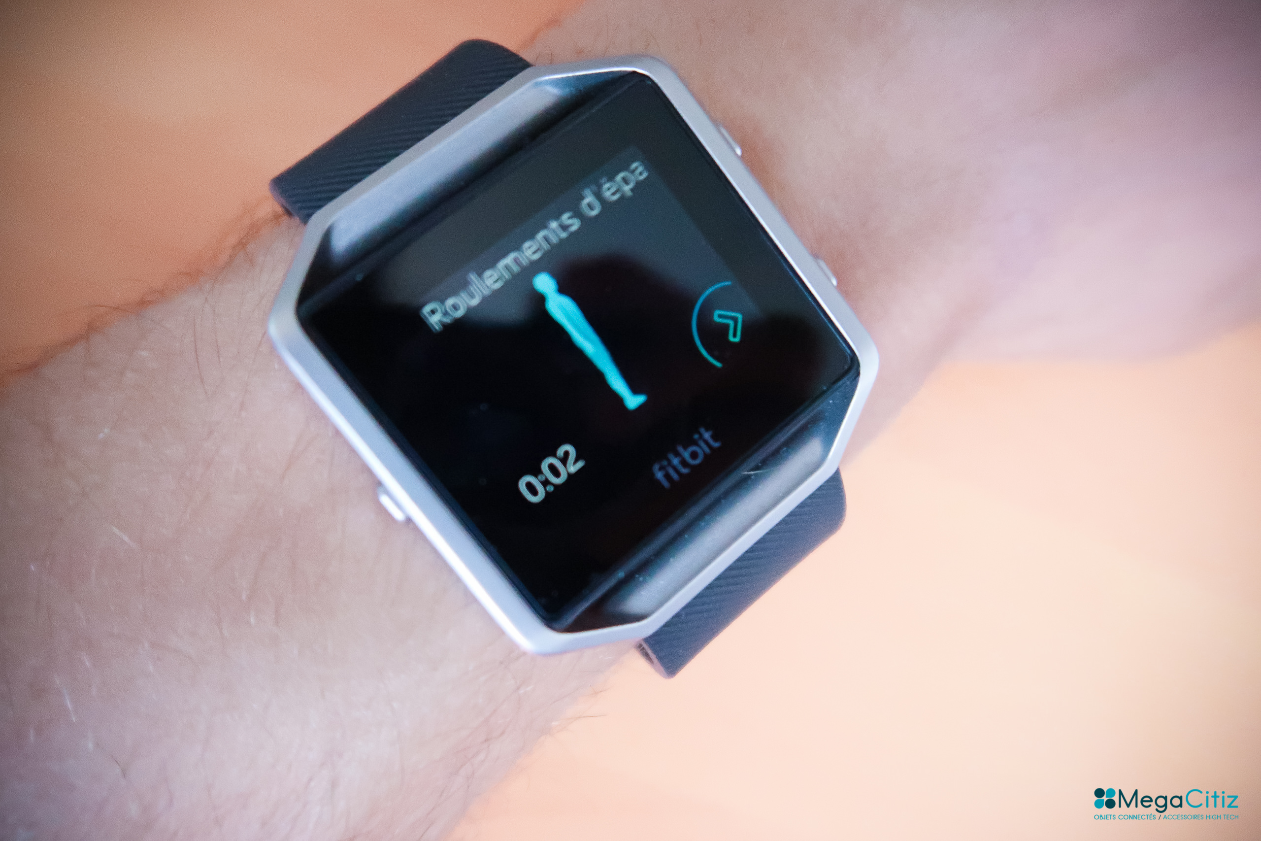 Fitbit Blaze - Megacitiz