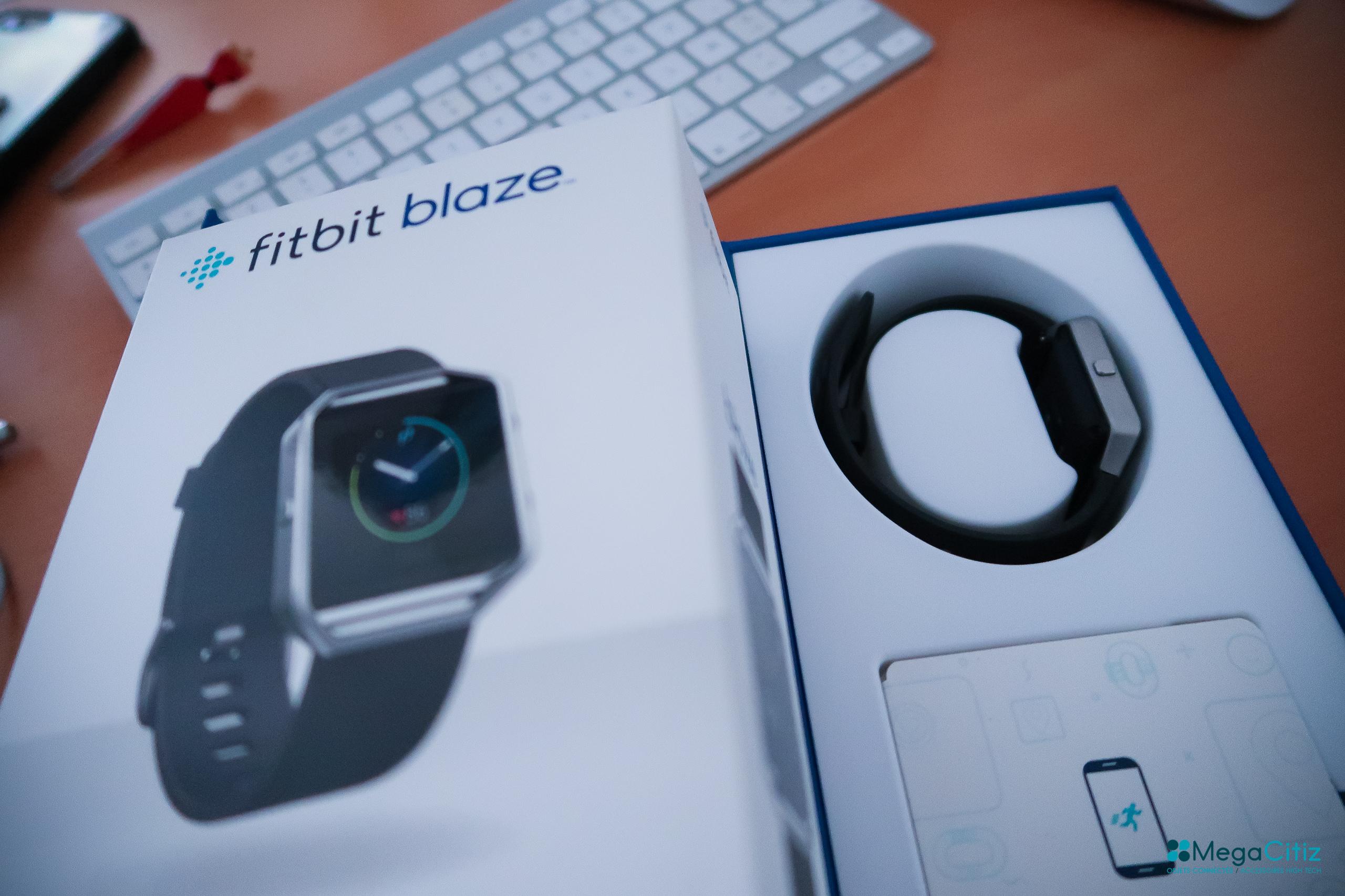 Fitbit Blaze : le test