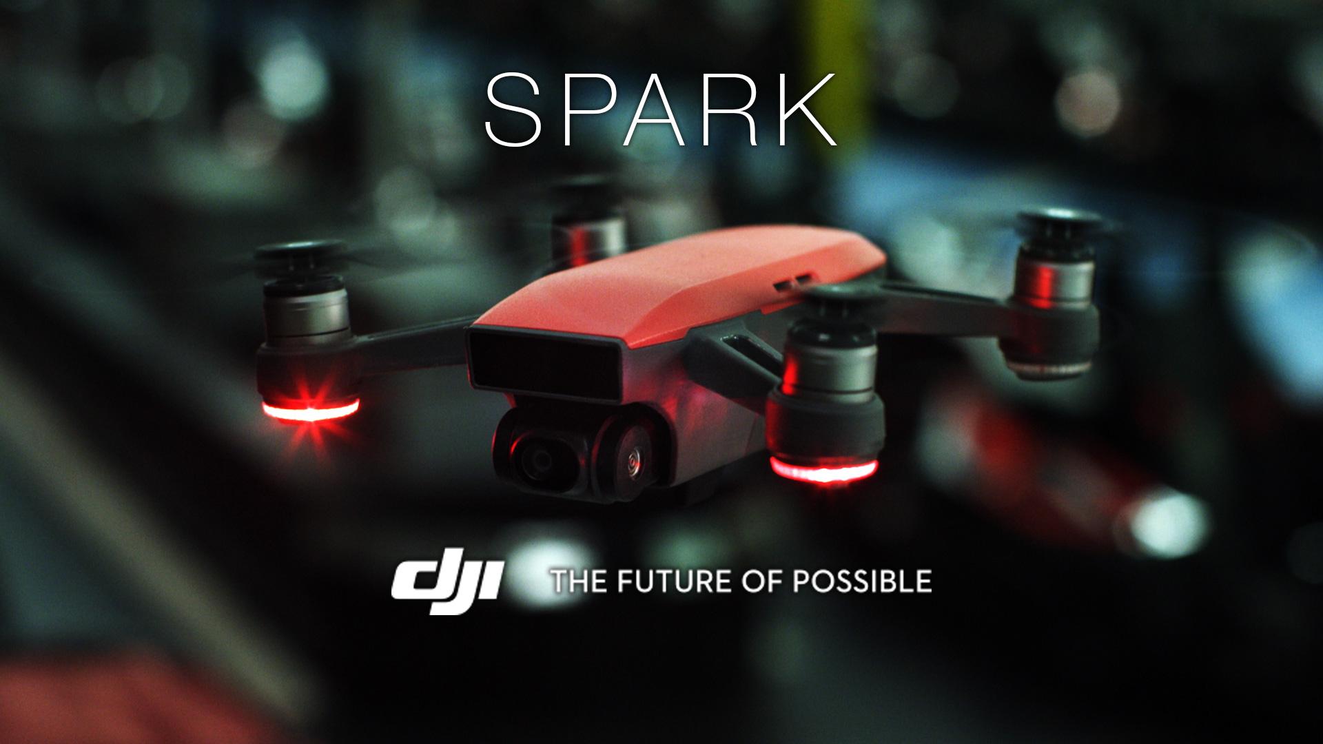 Dans la catégorie drones, j'appelle le DJI Spark !